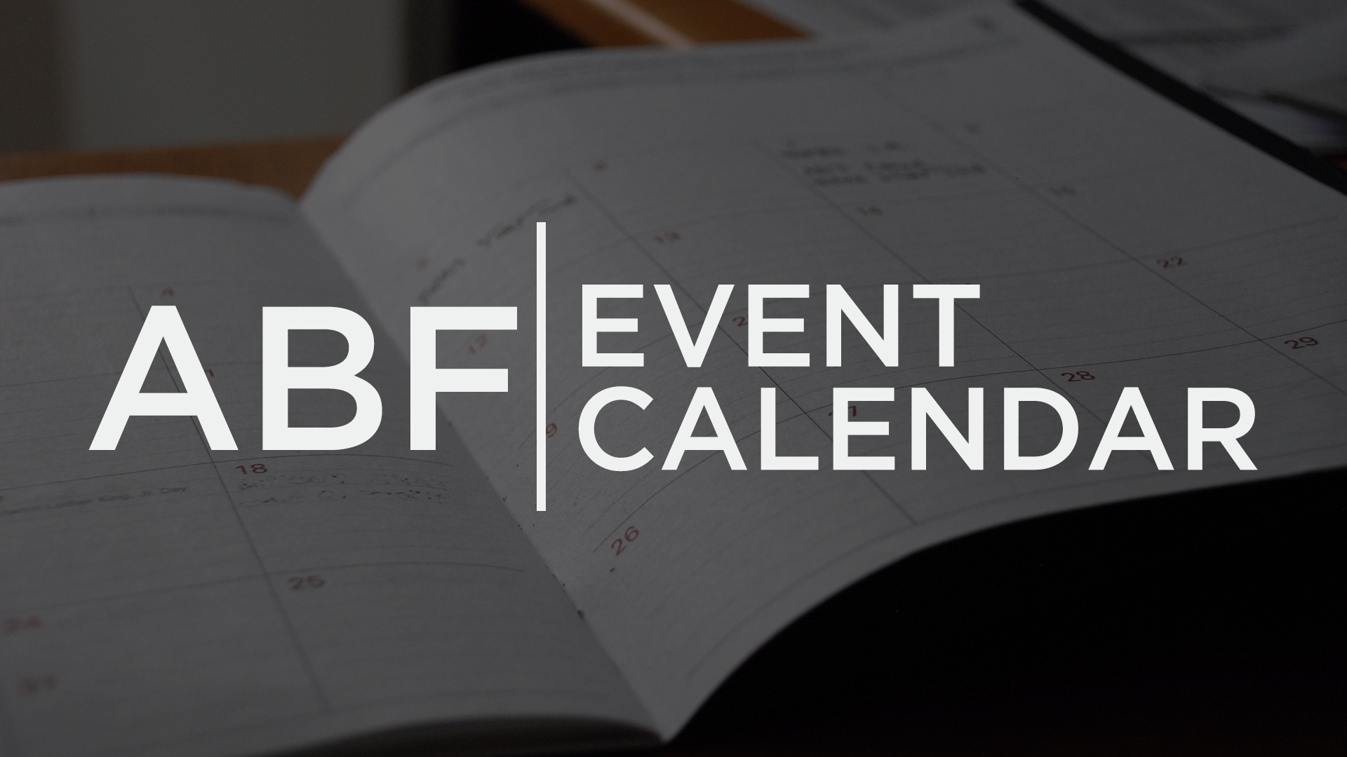 ABF Upcoming Events
