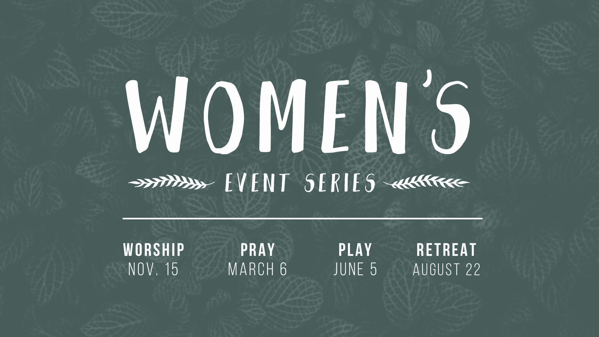Women's Event Series