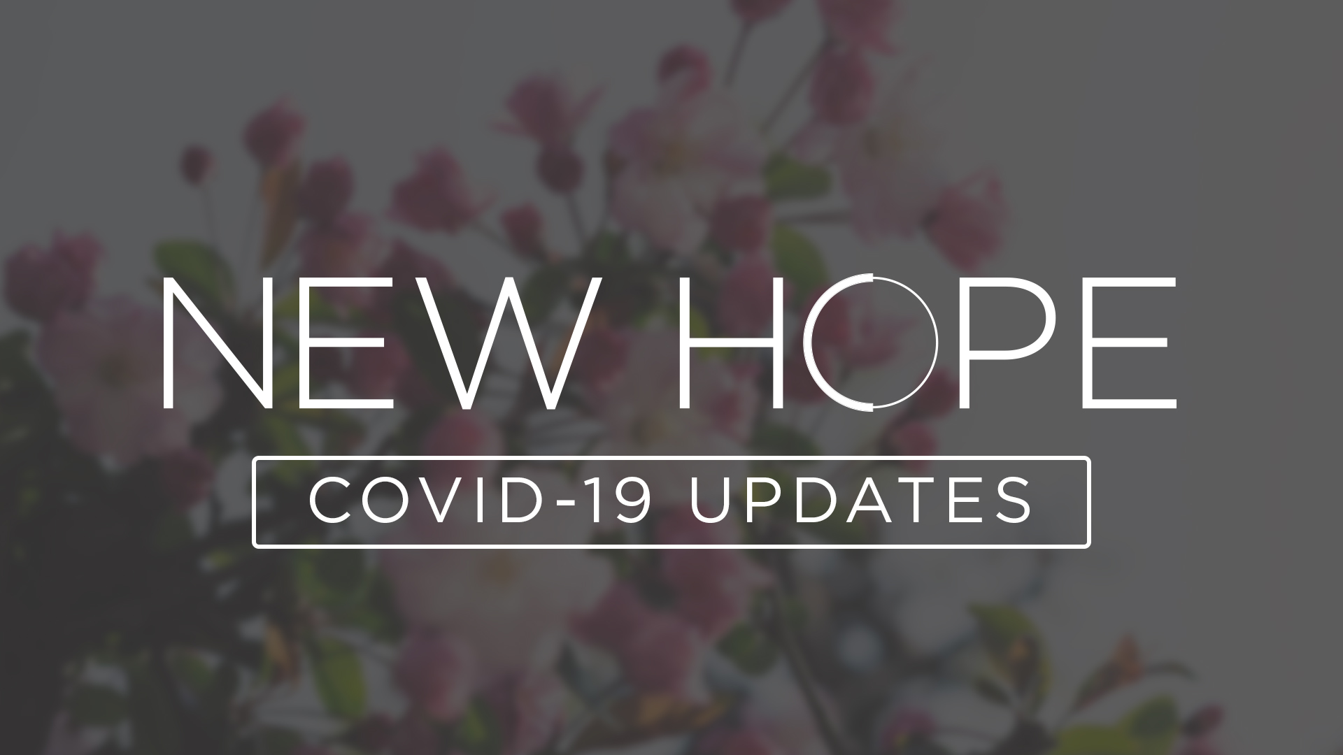New Hope's Update on COVID-19