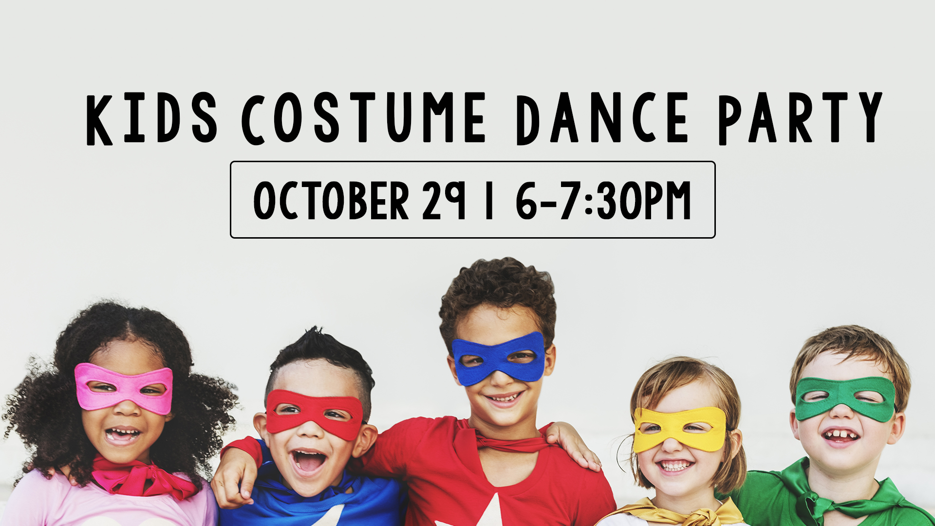 Kids Costume Dance Party