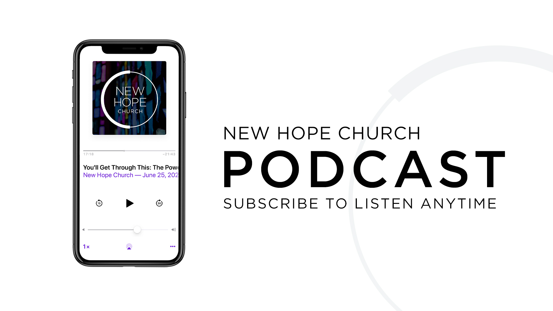Subscribe to our Podcast!